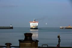 Ferry au port de Calais
