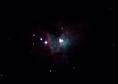 Trapezium in Core of M42 13/02/17 (Spicey_Spiney) Tags: rc8 ritchiechretientelescope m42 orionnebula trapezium
