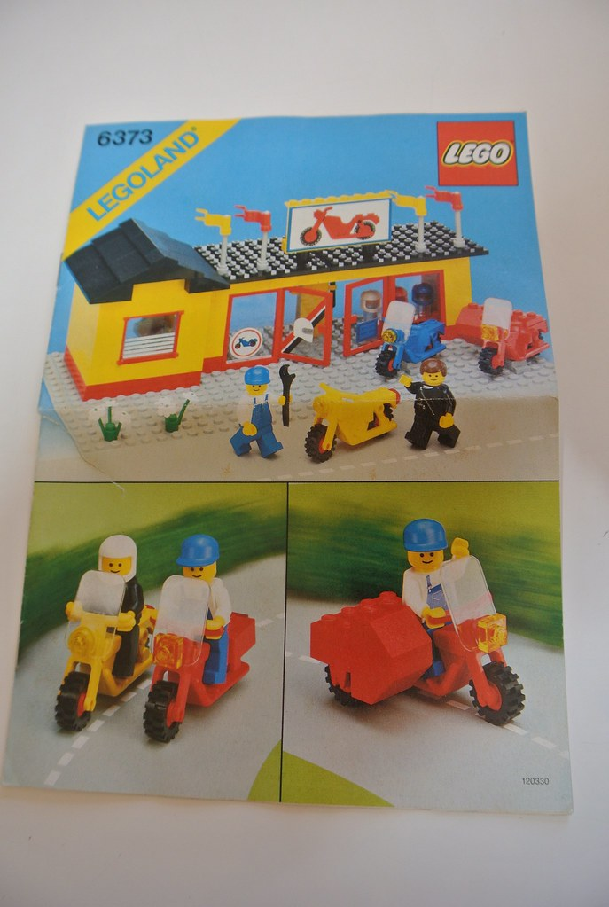 lego classic scooter instructions