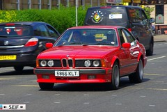 BMW E24 6series Glasgow 2014 (seifracing) Tags: rescue cars cat scotland cops traffic britain transport scottish police security vehicles research british trucks van emergency spotting services recovery strathclyde scania brigade ecosse seifracing