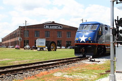 2014-06-nctm-2-event-mjl-37 (Mike Legeros) Tags: railroad nc tracks northcarolina rail shops spencer streamliner southernrailway museumoftransportation backshop streamliners
