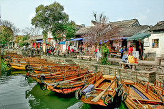"""Tongli Village Across The Canal • <a style=""""font-size:0.8em;"""" href=""""http://www.flickr.com/photos/53908815@N02/14158394188/"""" target=""""_blank"""">View on Flickr</a>"""
