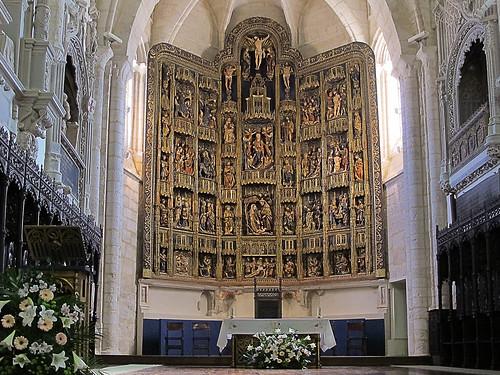El retablo *  Santa María de Dueñas (Palencia)