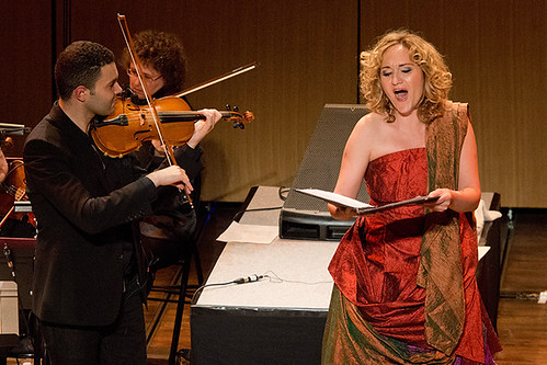 Festival METIS 2014 - Jasser Haj Youssef et Simone Kermes © Christophe Fillieule