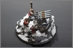 Dwarven Organcanon (luferox) Tags: dwarf warhammer zwerge warhammerdwarfs dwarfszwerge organcanon orgelkanone