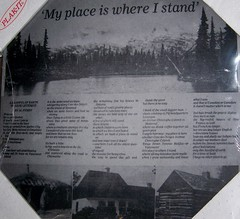 'My place is where I stand' (Will S.) Tags: ontario canada poetry poem cottage poet poems mypics aframe ameliasburgh alpurdy