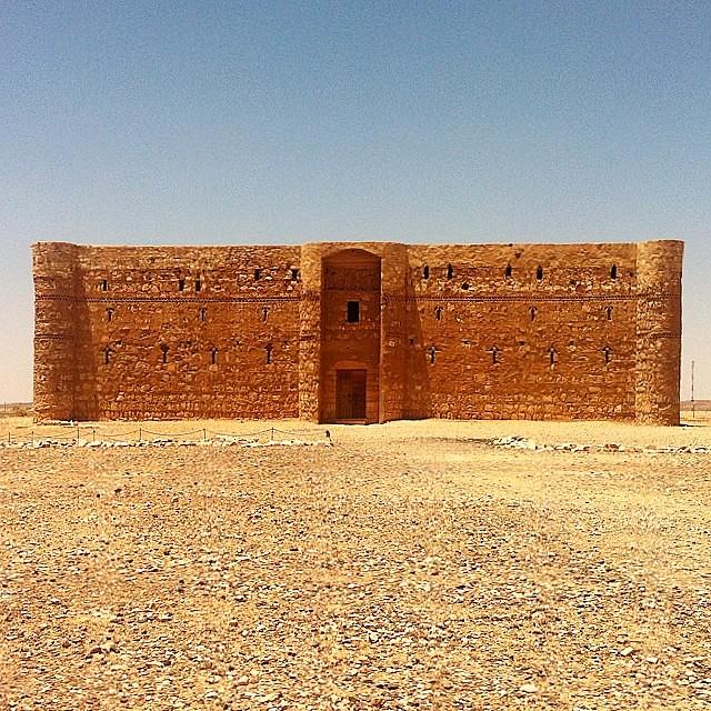 Giordania. Castello Omayyade nel deserto.