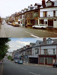 Penny Lane, Allerton, 1982 and 2014 (Keithjones84) Tags: liverpool thenandnow merseyside oldliverpool