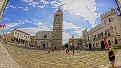 CAPODISTRIA. SLOVENIA. (FRANCO600D) Tags: canon sigma campanile slovenia capodistria panoramica piazza slovenija palazzo koper cattedrale fotocomposizione eos600d franco600d