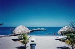 Resort (CapCase) Tags: beach pier honduras resort medics