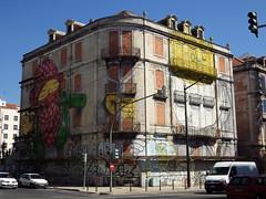 project cronos I (aestheticsofcrisis) Tags: street urban streetart art portugal graffiti mural europe blu lisbon urbanart intervention guerillaart muralismo muralism projectocrono projectcronos