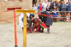 Ritterturnier beim Burgfest Neustadt-Glewe 2014