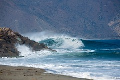 No go (merlinjphoto) Tags: ocean blue sol beautiful death sand rocks waves pacific secret style wave spot killer approved westcoast swell olas isa southswell