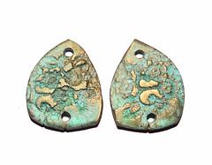Grubbi Ceramics (Grubbi Ceramics) Tags: ceramic handmade rustic jewelry jewellery patina stoneware eroded handmadejewelry handmadejewellery handmadebeads ceramicbeads ceramicpendant handmadecharms rusticbeads