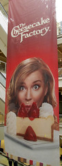 (SA_Steve) Tags: sign mall giant banner strawberries cheesecake thecheesecakefactory
