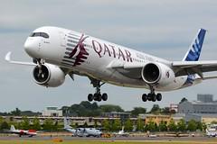 Airbus A350 XWB F-WZNW (jvreymondon) Tags: uk aircraft aviation airshow airbus farnborough avgeek a350 xwb a350xwb fwznw fia2014 fia14 farn14 farn2014