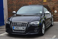 GR60 CXW (S11 AUN) Tags: car sussex traffic police vehicle roads emergency audi s3 unit 999 unmarked rpu policing anpr