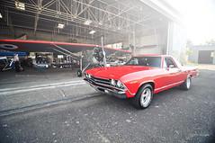 El Camino (R.K_photography) Tags: red horse usa ford chevrolet up car nikon shoot power camino muscle automotive el bleu american mustang pick v8 d90