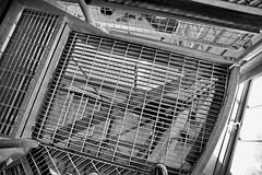 18 - Robert Russell's graceful and artistic spiral staircase (George - with over 2 mil views - THANKS) Tags: summer vacation usa monochrome us blackwhite newjersey unitedstates unitedstatesofamerica worldwarii cape coastline sunsetbeach capemaypoint capemay jerseyshore atlanticocean spiralstaircase americanhistory midatlantic historicplaces 19391945 acdseepro robertrussell nikond700 photogeorge firecontroltowerno23 nationalregisterofhistoricplaces1985 slidingorslipformconcretepour gracefulandartistic