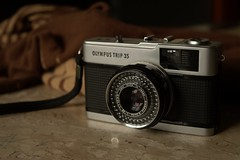 old trip cute vintage lens olympus 40mm 35 aw analogic