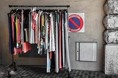 Forbidden Colours (M@uz) Tags: muro wall clothes forbidden colori divieto vestiti