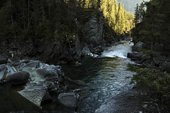 Flowing to the sea (CNorthExplores) Tags: travel canada canon river columbia canyon british fraserriver g11 canadianrockies