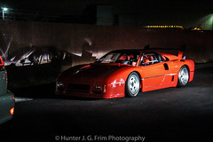 Ferrari 288 GTO LM (Hunter J. G. Frim Photography) Tags: ferrari gto lm supercar 288