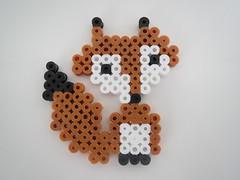 Have a great monday! (Els04) Tags: fox hama strijkkralen