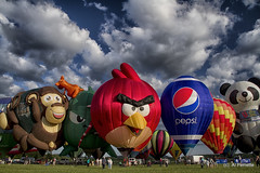 The Gas Menagerie (Al Perrette) Tags: hot festival air balloon readington alperrette