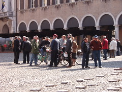 Modena in April  2010 (saxonfenken) Tags: people italy group several gathering modena sundaymorning gamewinner 6959 yourock2nd herowinner modenaaprils750 6959people