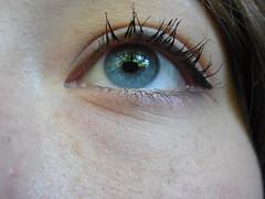 Left (HannahBarbara96) Tags: blue eye eyes sleep makeup stunning mascara chic winged simple eyeliner bl