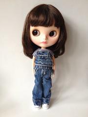 Custom blythe doll. Maggie Mae in new licca body