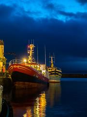 Chalutier de la SCAPECHE à quai. (fjozon) Tags: port bretagne fujifilm bateau sardine pêcheur x20 thon douarnenez pêche chalutier rosmeur bolinche bolincheur fjozon
