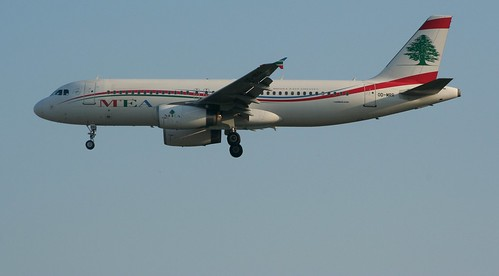 MEA MIDDLE EAST AIRLINES 320-200 OD-MRR(cn3837)