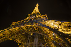 The Eiffel Tower @ night