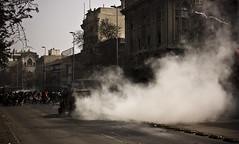 Marcha 21 de Agosto (Pablo.Monte) Tags: chile santiago students march police carabineros protests policia marcha teargas chilean estudiantes protestas estudiantil movimientoestudiantil