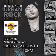 """Come rock with us in #pittsburgh this Friday at the #hardrockcafe in #stationsquare @hrcpittsburgh - with @theyjjs @hiroots and of course @nattyvibes !! #hiphop #rock #reggae #urbanrock #urbanrockproject #jessemader #breathbybreath #pghmusic • <a style=""""font-size:0.8em;"""" href=""""https://www.flickr.com/photos/62467064@N06/14864931413/"""" target=""""_blank"""">View on Flickr</a>"""