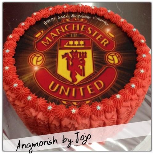 Man United Birthday Cake Singapore