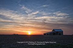Farmland Sunset (MattPenning) Tags: sunset sky home field clouds barn pentax farm shed sigma potd prairie k5 skyclouds farmfield farmstead mattpenning kmount sigma1020mmf456exdc mattpenningcom penningphotography justpentax pentaxk5 pleasantplainsillinois