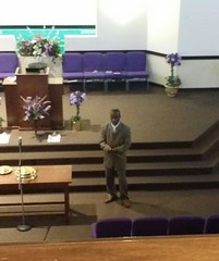 """Kenneth Ray tore it up preaching on """"Radical Worship""""."""