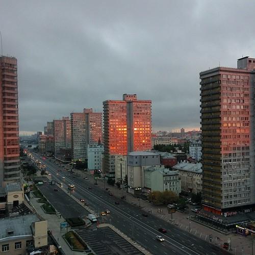 Москва. Утро