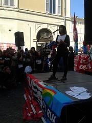 2 ottobre 2013: manifestazione precari della ricerca (lollocas) Tags: roma piazza precari cnr cgil uil montecitorio istat cisl ingv flccgil