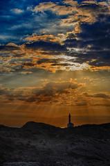 Late summer dawn over the Favaritx Lighthouse, Menorca. Amanecer de finales de verano en el Faro de Favaritx, Menorca. (www.ibarik.com) Tags: lighthouse clouds sunrise landscape mediterranean menorca cloudsstormssunsetssunrises