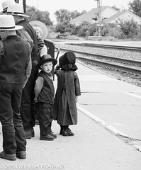 Waiting for the train (miguel-jose) Tags: train amish amtrak traintravel laplatamissouri