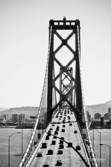 Bay Bridge (B. Weihe Photography) Tags: california bridge b usa white black canon island photography eos bay und san francisco treasure benjamin tamron brcke schwarz kalifornien weihe weis 700d