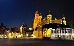 Vrijthof, Maastricht (Frank Streve) Tags: longexposure nightphotography holland building church dutch architecture facade photography thenetherlands architectural architectuur gebouw nachtfotografie gevel 2014 architecturalphotography fotograveren nikond90