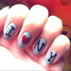 Nail art com a cor cinza para #ClubeDoEsmalte (bruh_loveeh) Tags: clubedoesmalte
