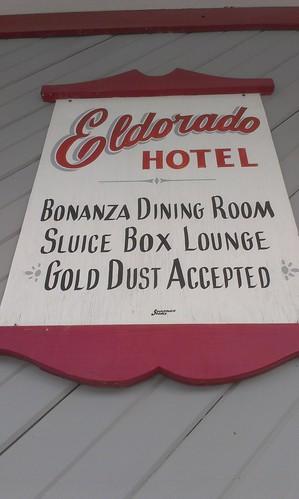Eldorado Hotel sign