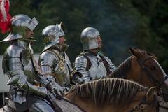 Leeds castle 2014 (srs4068@btinternet.com) Tags: nikon medieval knight tamron armour leedscastle reenactment horseback reenactors 2014 d7100 18270mm