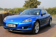 261/365 - 18 September 2014 - Mazda RX-8 (Rally Pix) Tags: mazda rx8